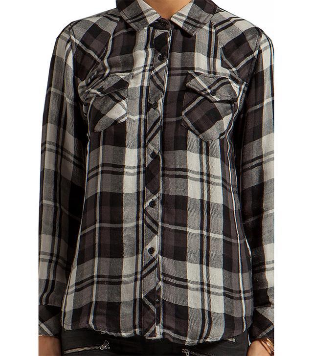 Rails Kendra Tencel Button-Down Shirt