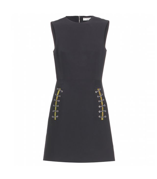 Balenciaga Lacing-Embellished Dress