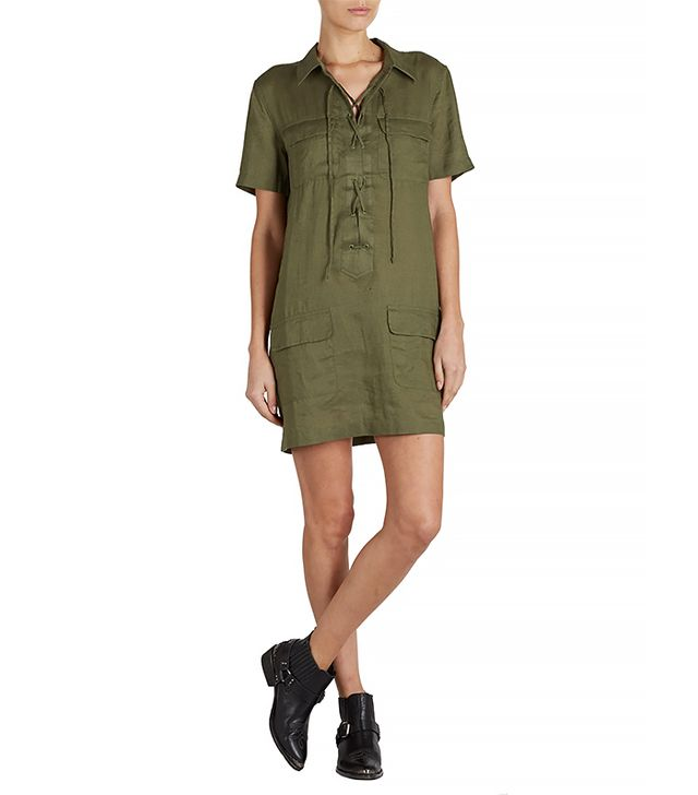Equipment Short Sleeve Knox Dress