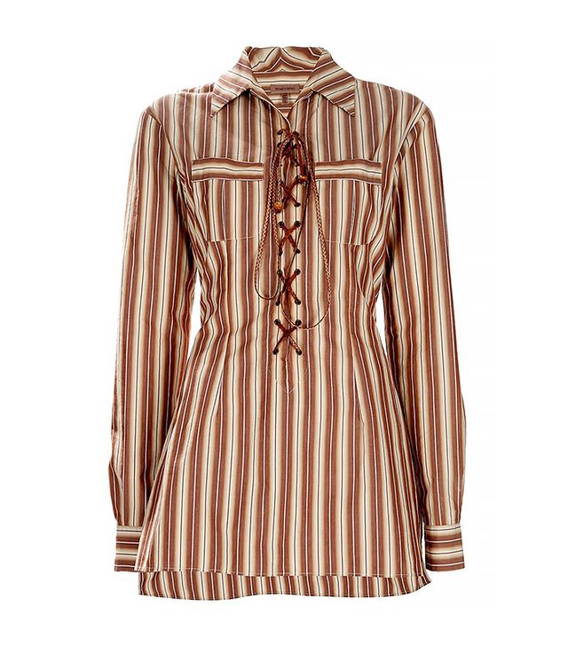 Romeo Gigli Vintage Striped Shirt