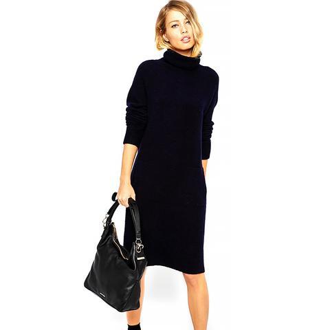 Slouchy Knit Dress