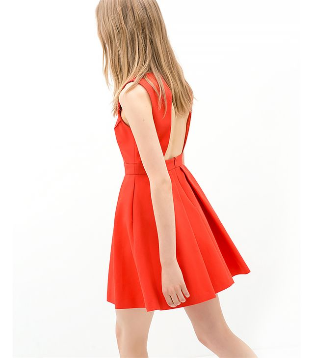 Zara Open-Back Dress