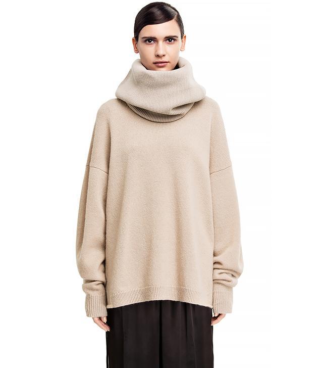 Acne Studios Demi Mix Beige Sweater