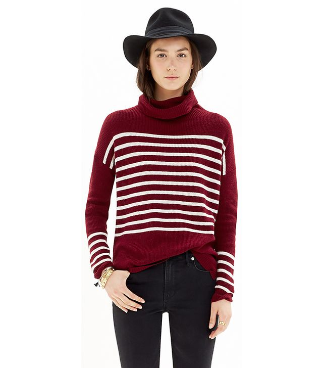Madewell Ribbed Turtleneck Sweater