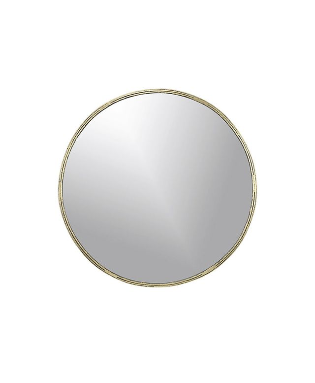 CB2 Tork Brass Dripping Mirror