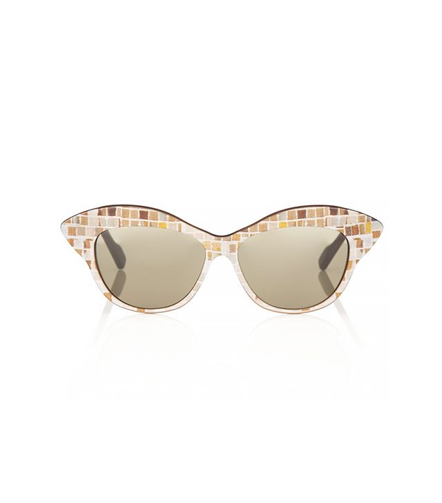 Wunderkind Mosaic Cat-Eye Sunglasses