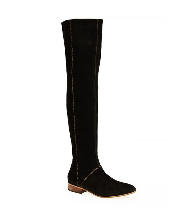 Free People Grandeur Suede Over-the-Knee Boots