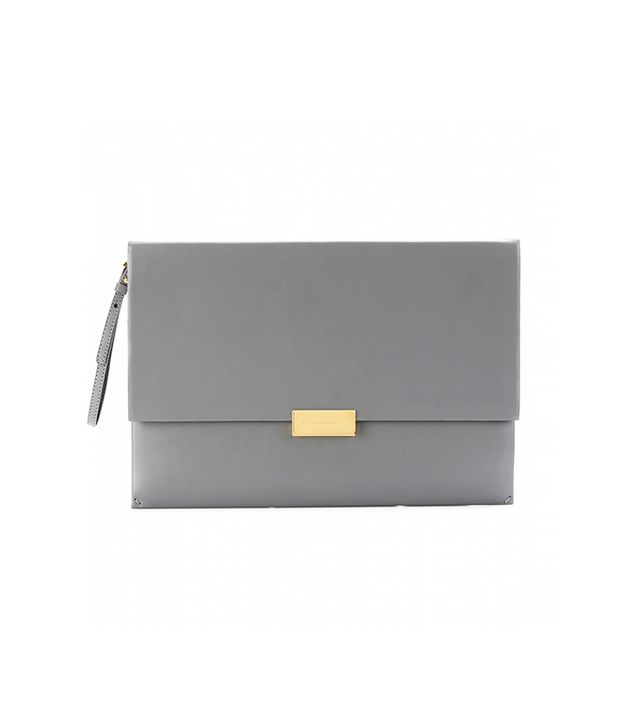 Stella McCartney Beckett Faux Leather Clutch
