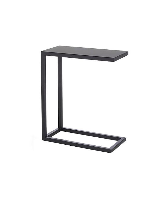 Crate & Barrel Avenue Black C Table