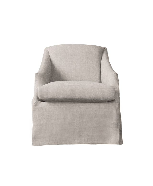 RH Baby & Child Demi Sloped Arm Swivel Glider With Slipcover