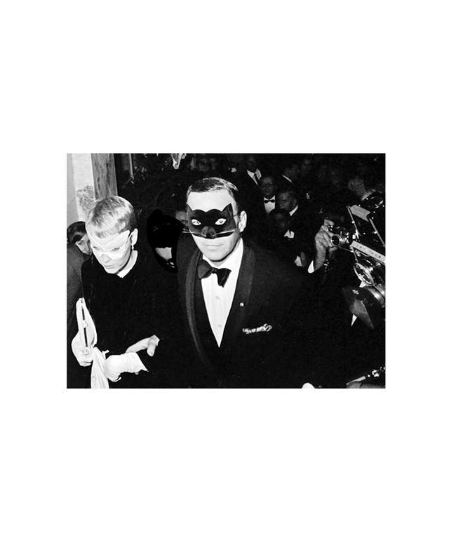 Harry Benson Frank Sinatra and Mia Farrow at Truman Capote Black and White Ball, 1966