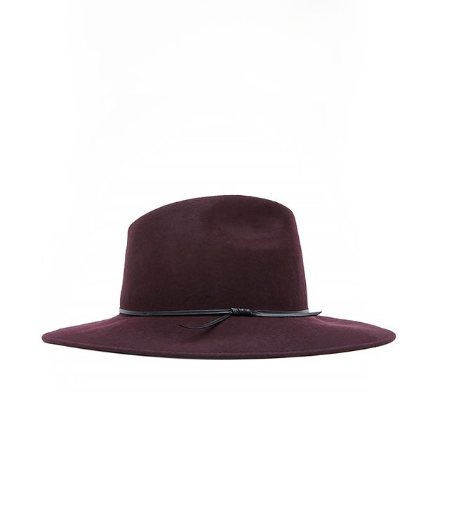 Reiss Mimi Wide Brim Trilby Hat