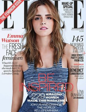 Emma Watson Stars On The Cover Of Elle UK's Feminism Issue