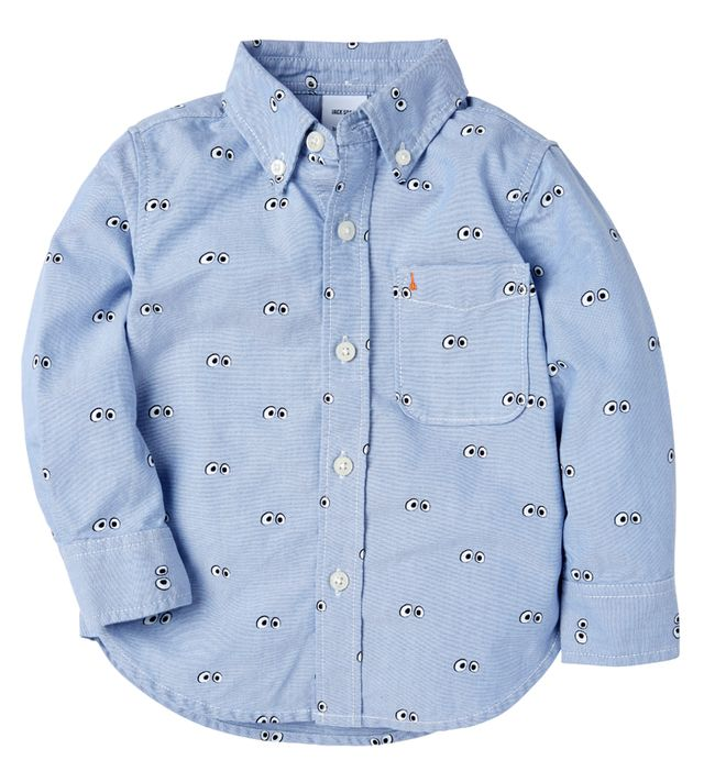 JACK SPADE ? GapKids Googly Eyes Oxford Shirt