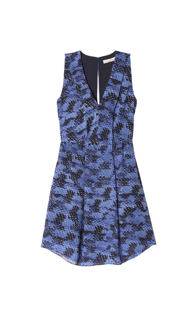Rebecca Taylor Summer Storm Cutout Dress