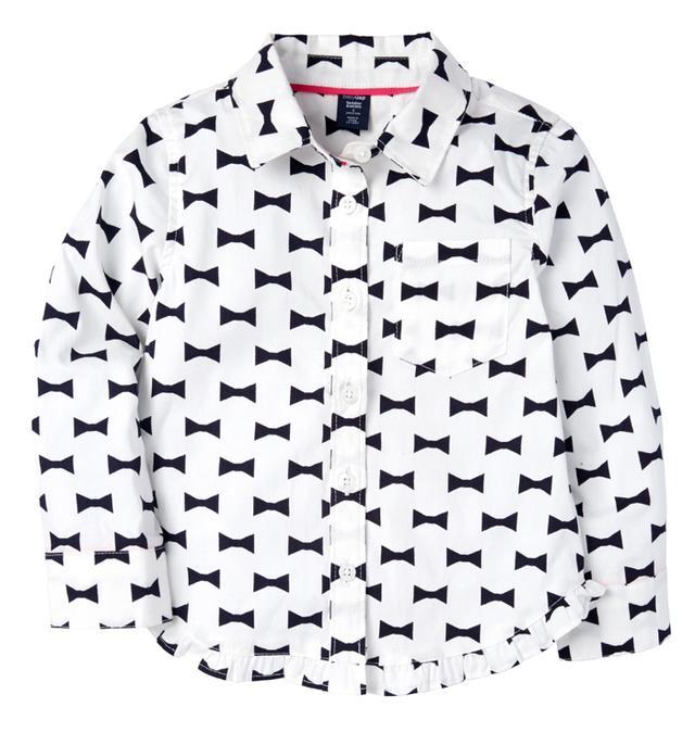 Kate Spade New York ? GapKids Ruffle Oxford Shirt