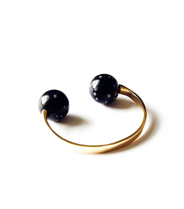 Stanmore Obsidian Cuff