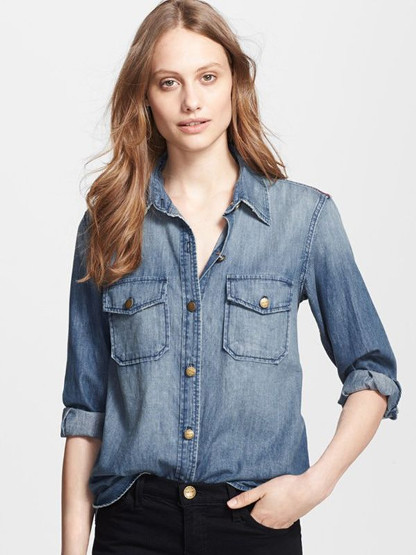 nordstrom.com The Perfect Denim Shirt