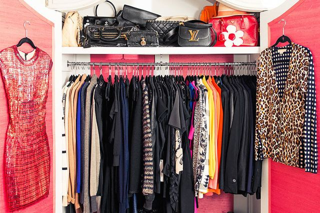 2. What do you have a lot of in your closet?