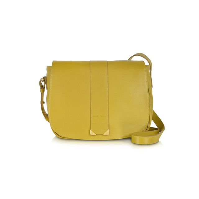 See by Chloé Daisie Bamboo Leather Crossbody Bag