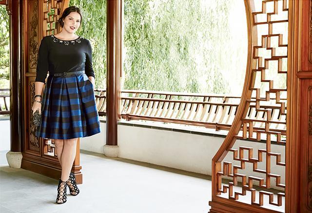 Eliza J Mock Two Piece Dress