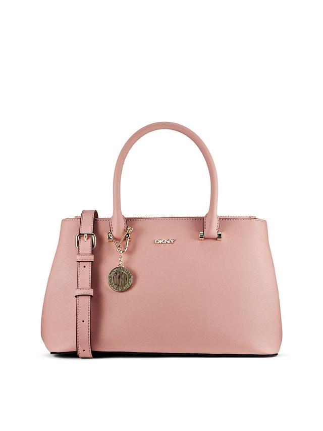DKNY Saffiano Leather Medium Shopper