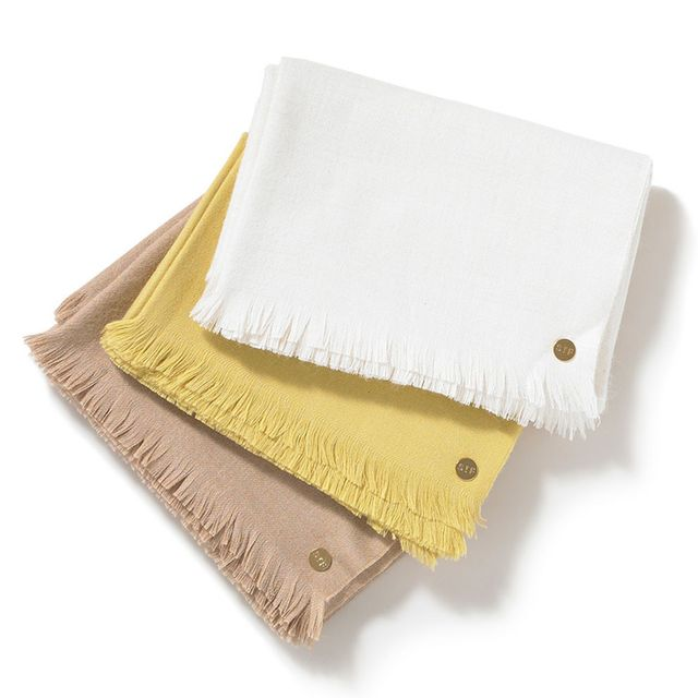 St. Frank The Coziest (and Chicest) Wool Throw