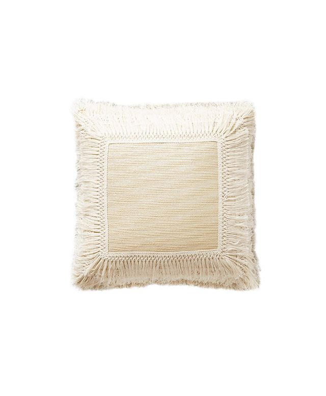 Anthropologie Fringed Pillow