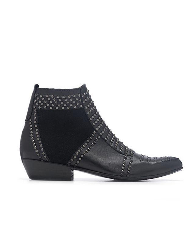Anine Bing Boots with Silver Studs