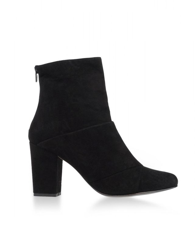 Opening Ceremony Black Suede Ankle Boots