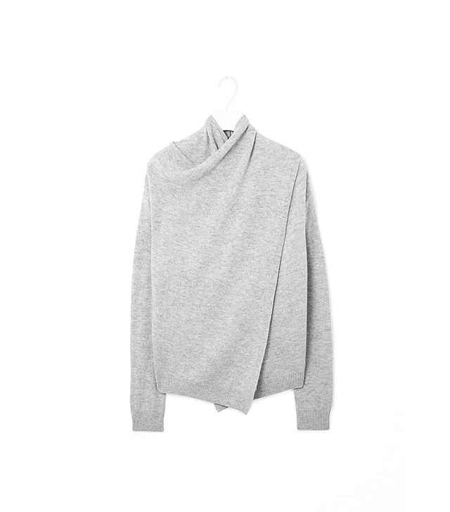 COS Overlap Wool Jumper