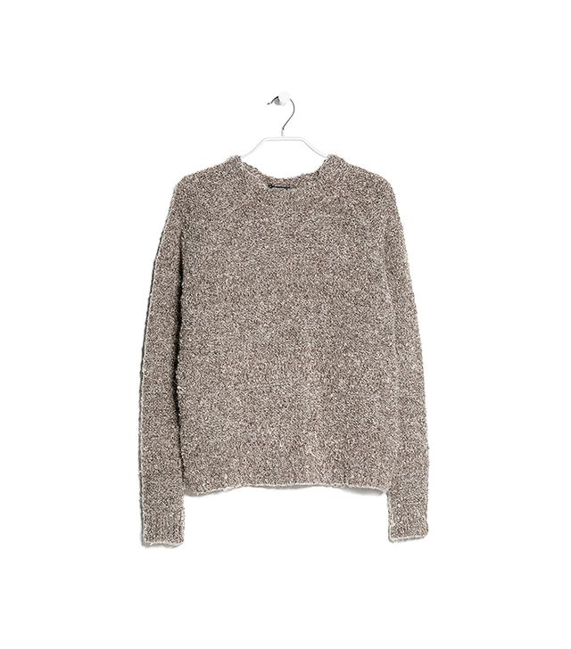 Mango Boucle Mohair Blend Sweater