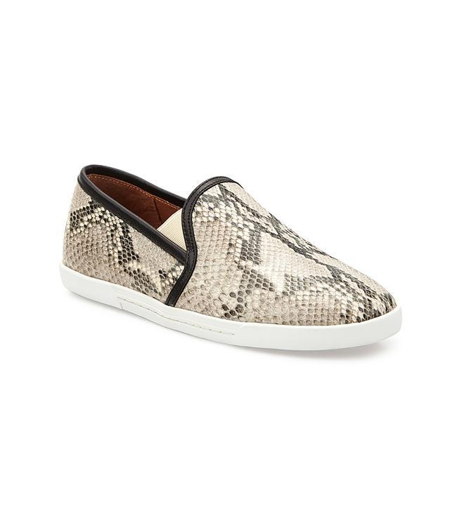 Joie Kidmore Python-Print Slip-On Sneaker