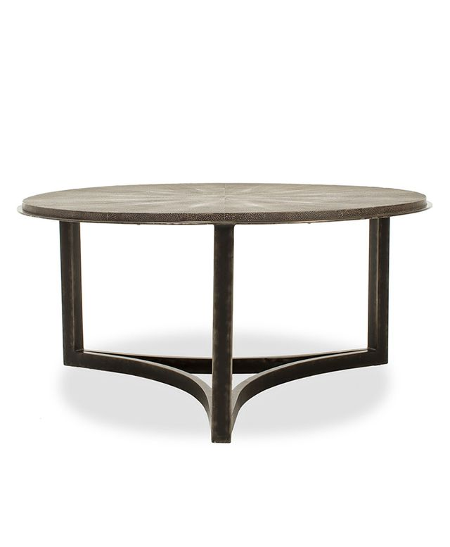Dwellstudio Milo Shagreen Cocktail Table