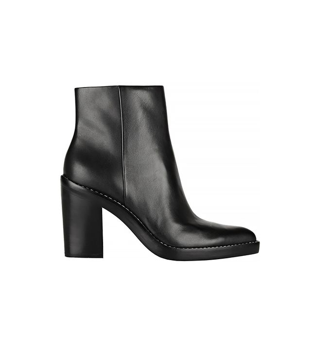 Alexander Wang Kelli Leather Ankle Boots
