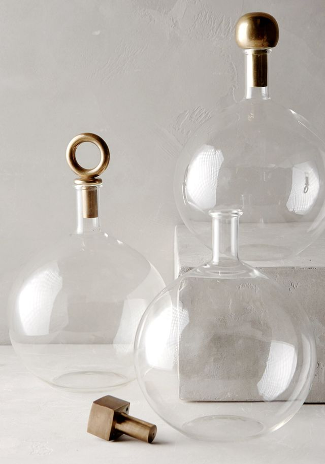Anthropologie A Must-Have Decanter for a Stylish Bar