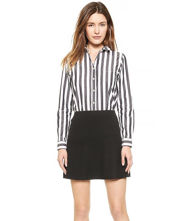 Maison Kitsune Classic Jagg Stripes Shirt