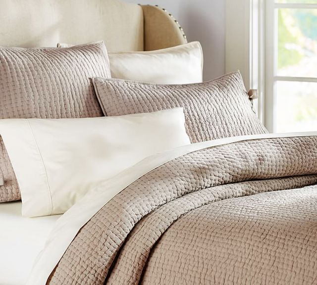 Pottery Barn Pick-Stitch Quilt