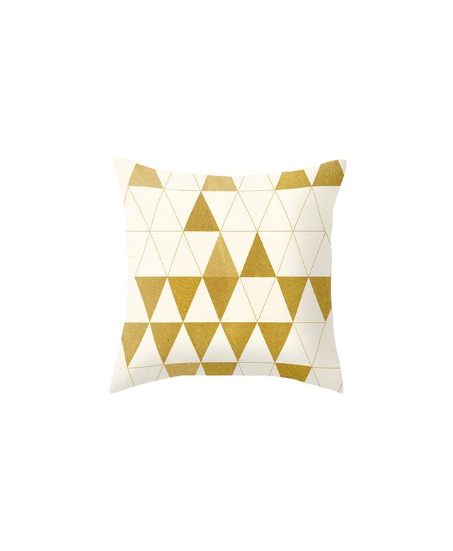 Society6 My Favorite Shape Throw Pillow