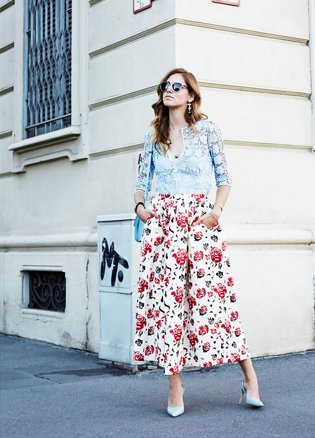 Outfit Idea: Mixed Florals