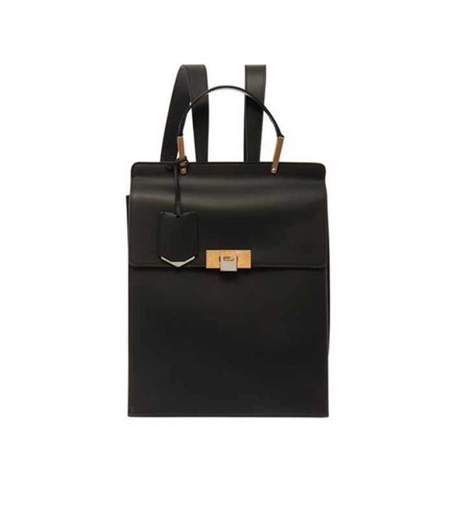 Balenciaga Le Dix Leather Backpack