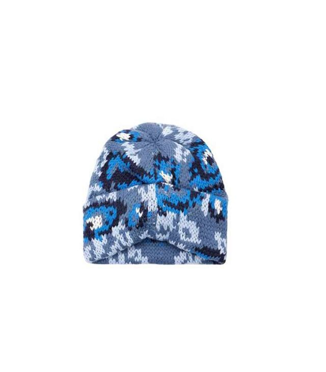 Tak.Ori Cortina Floral Knit Beanie