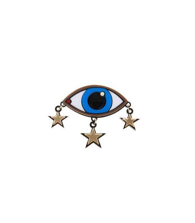 Yazbukey Eye and Stars Brooch