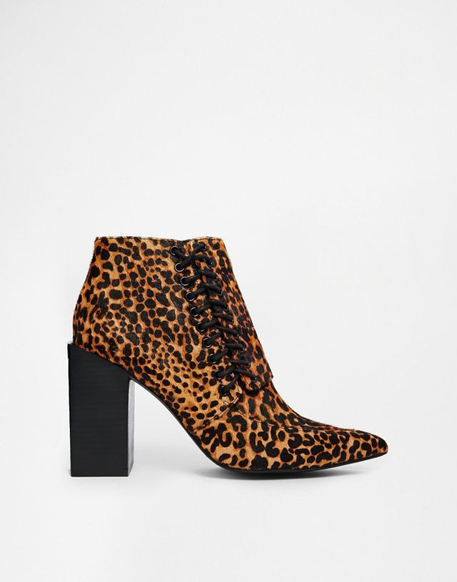 Senso Talulah I Leopard Pointed Ankle Boots