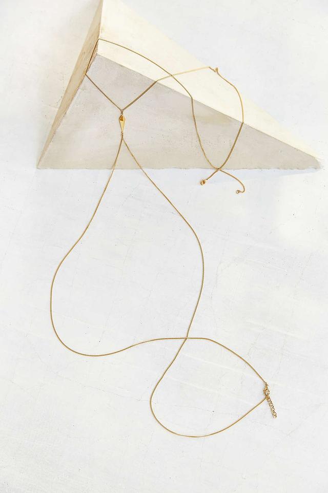 Luv AJ Thin Spike Body Chain Harness
