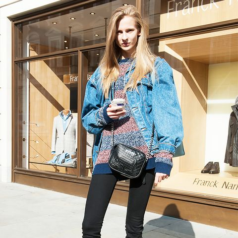 London Street Style Lace-Up Boots Look