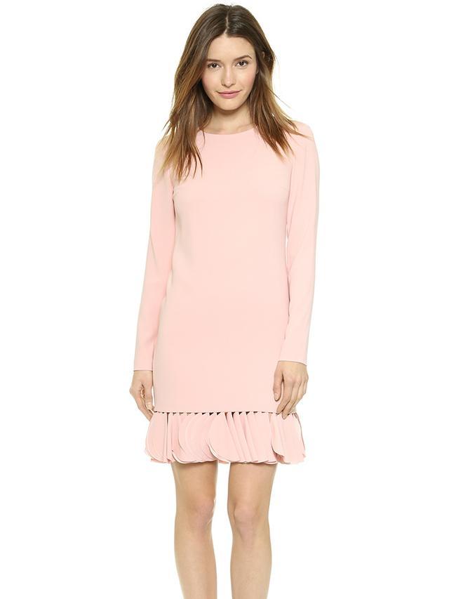 DKNY Petal Applique Shift Dress
