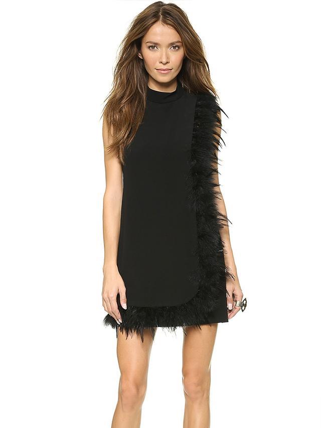 Nanette Lepore Cape Dress
