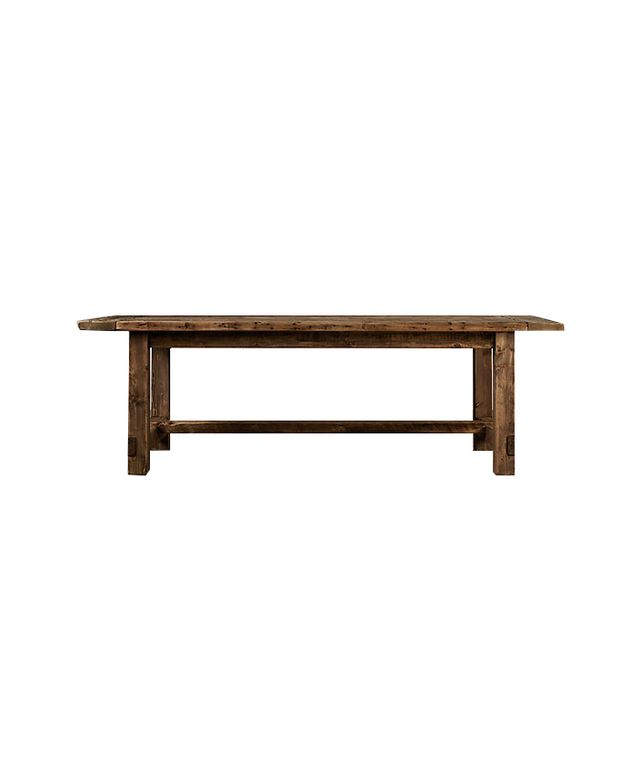 Restoration Hardware Wood Dining Table