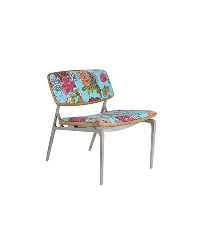 Floral CB2 Chair